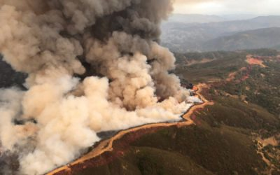 California Wildfires Pass Four Million Acres Burned, Doubling Previous Record – That's A Lot of Toxic Smoke